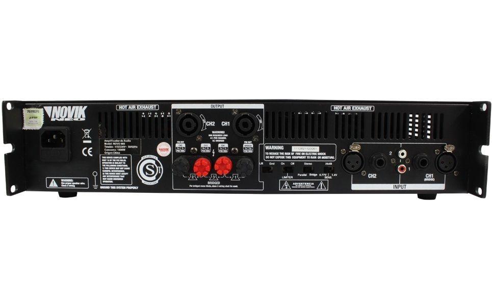 Amplificador De Potência Novik Neo Novo 900 900w RMS