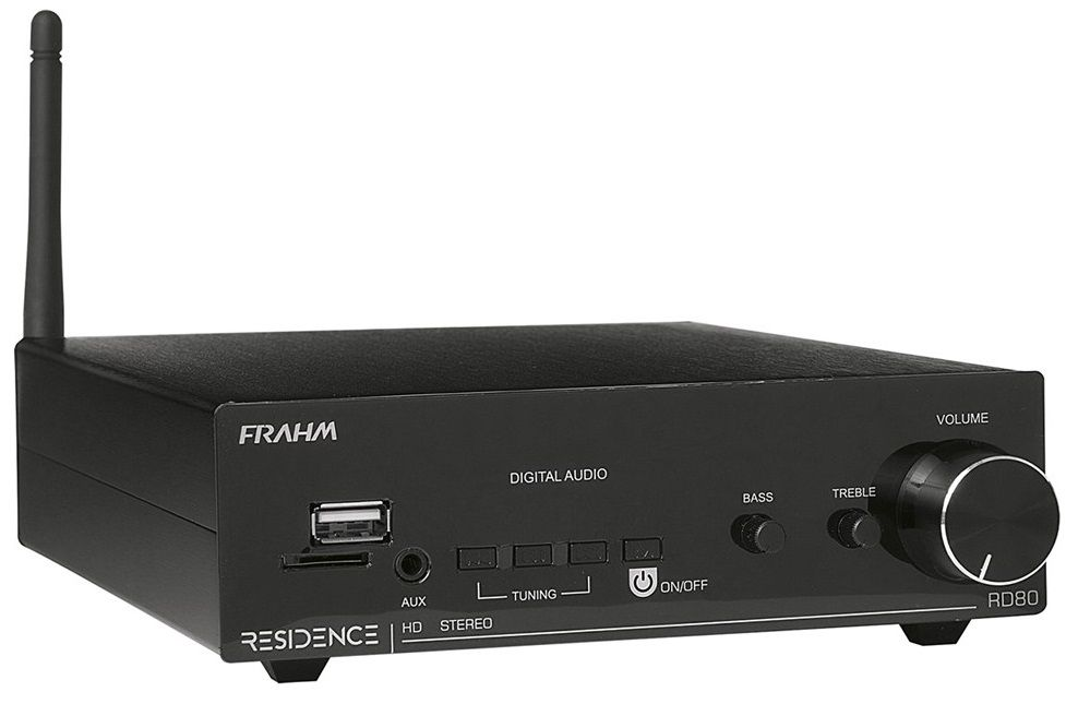 Amplificador Receiver Residence Frahm Rd80 2x80 Rms