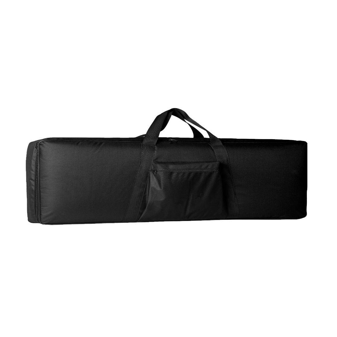 Bag Ponto do Musico Luxo Piano Preta Acolchoado