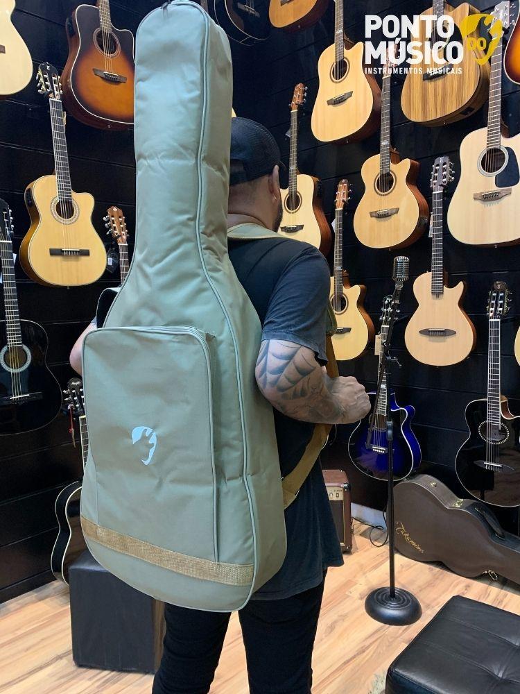 Bag Ponto do Musico Premium Violão Classico I Mini Jumbo I Auditorium Bege