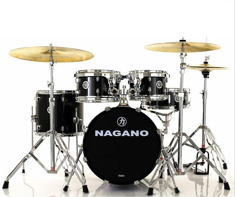 Bateria Acustica Nagano Tagima Garage Gig Ebony ES Bumbo 18