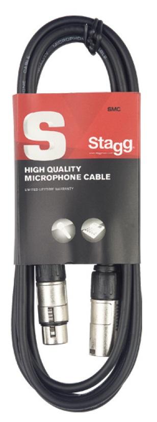 Cabo De Microfone Stagg XLR x XLR 3 Metros