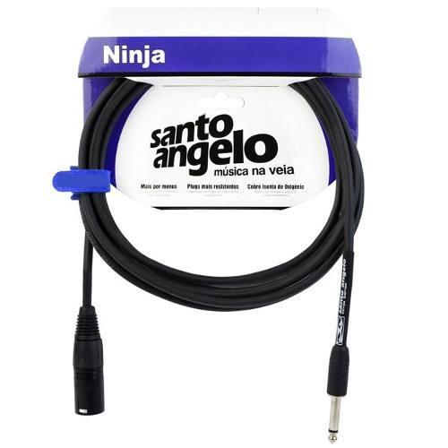 Cabo Microfone Santo Angelo Ninja HG 10FT XLR | P10 3.05 Metros