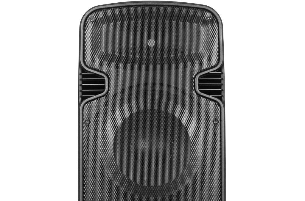 Caixa Ativa 2 X 15 Novik Evod Bravery 900W Bluetooth Usb C/ Controle