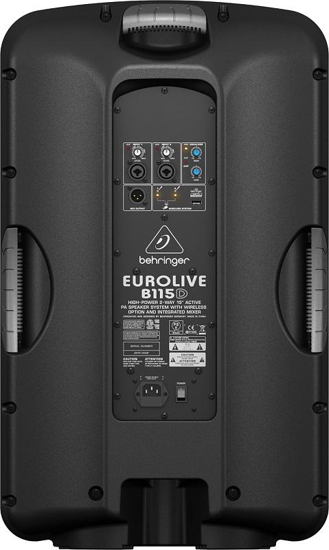 Caixa Ativa Behringer 15 Eurolive B115D 1000w