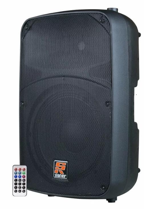 Caixa Ativa Staner 12 Sr212a 200w Rms Usb Bluetooth C/ Controle