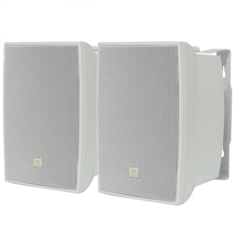 "Caixa De Som Ambiente Par JBL C521B 5"" 40w Rms - Branca"