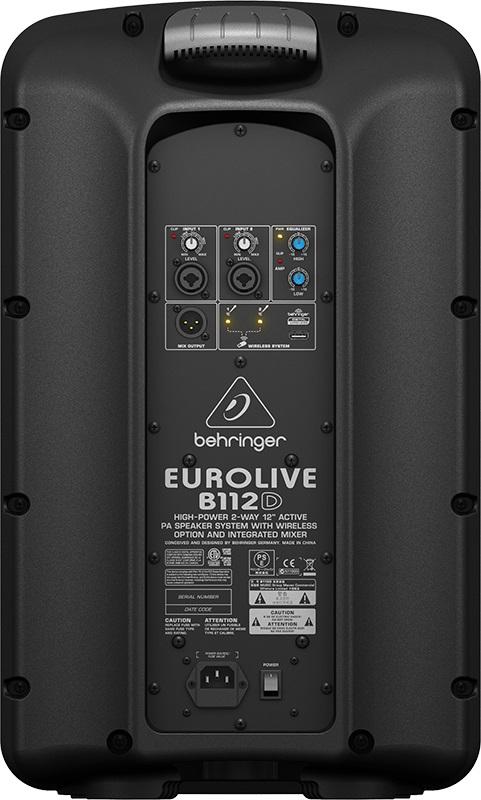 Caixa Ativa Behringer 12 Eurolive B112D 1000w