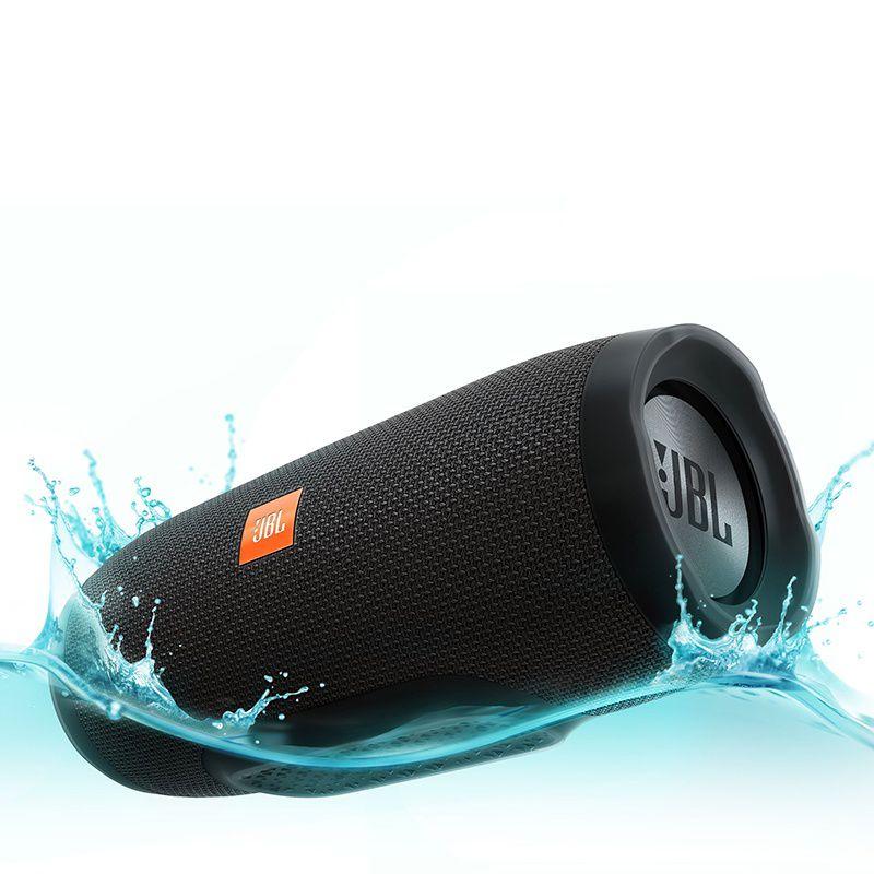 Caixa De Som JBL Charge 3  2x10W A Prova d água Bluetooth Preto