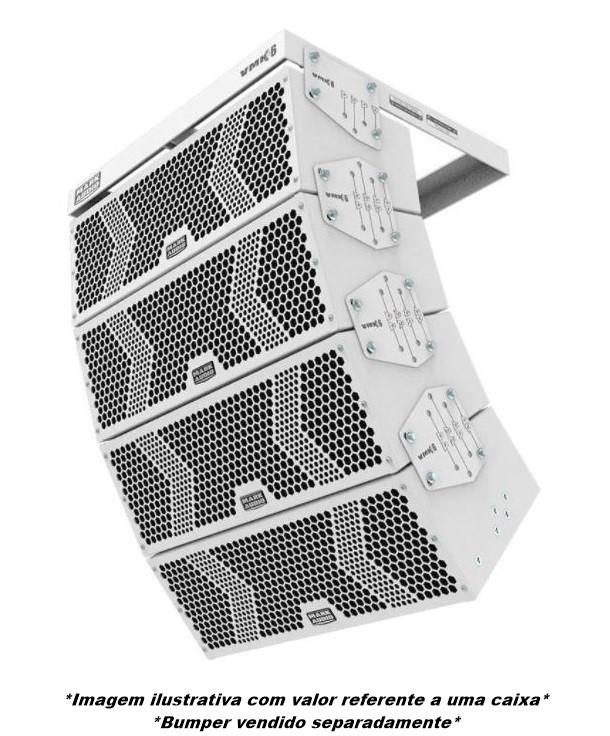 Caixa Line Array Ativa Mark Audio Vmk-6 500w Branco