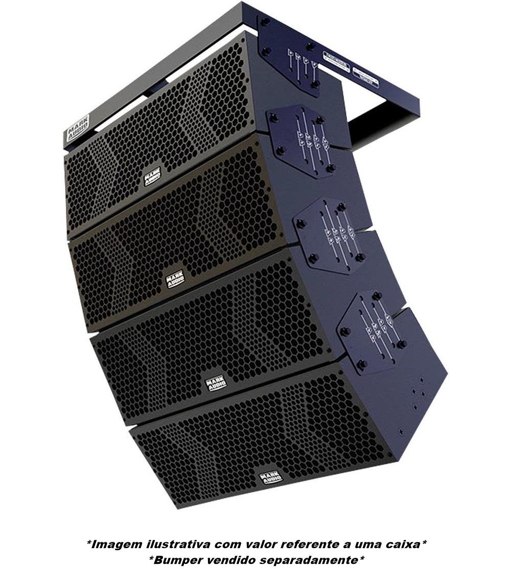 Caixa Line Array Ativa Mark Audio Vmk-6 500w Preto