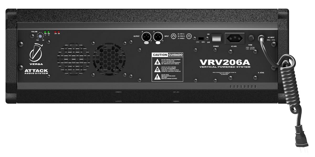 Caixa Line Array Attack VRV206A Ativo 350w RMS