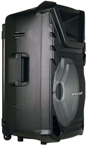 Caixa Multiuso Oneal 15 OMF450 120w Rms Bt USB FM C/ Bateria e Microfone Sem Fio