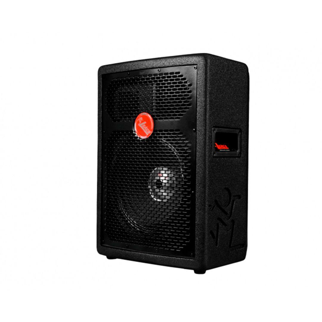 Caixa Som Ativa 15 Pol Leacs Fit 550A 250w RMS Usb Bluetooth