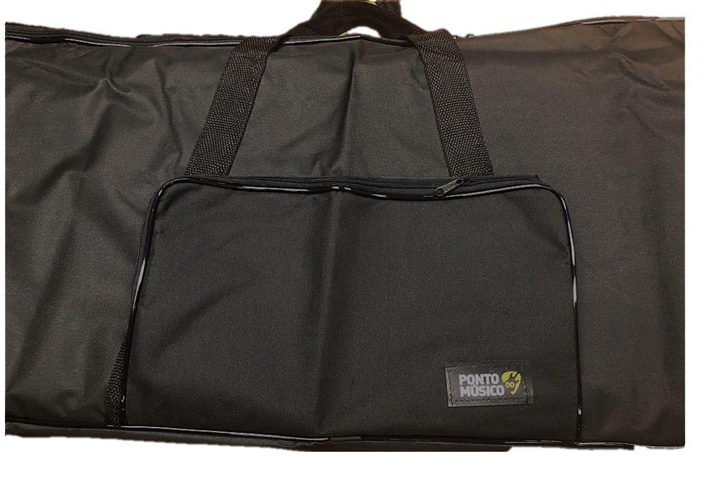 Capa Bag Ponto do Musico Simples P/ Teclado