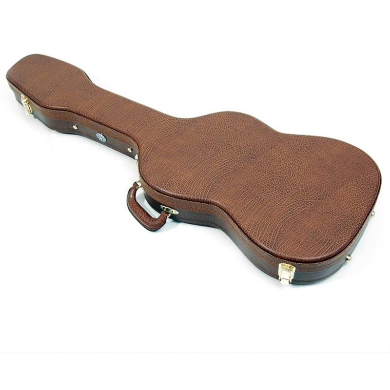 Case Luxo P/ Guitarra Solid Sound Madeira - Marrom