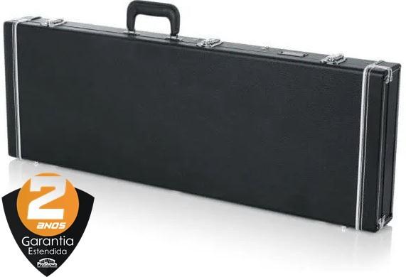 Case Guitarra Luxo Gator Gw-Eletric Madeira Preto