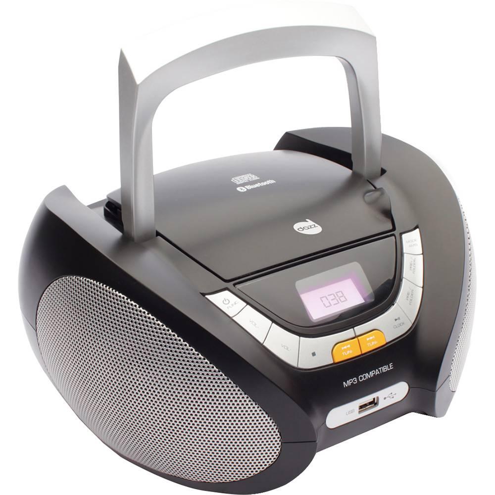 CD Player DAZZ MP3 Rádio FM com Entrada USB e Auxiliar 5W