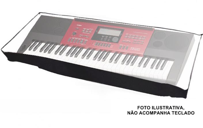 Cobertura AVS CIT005CR P/ Piano/Teclado 7/8 135x30x16