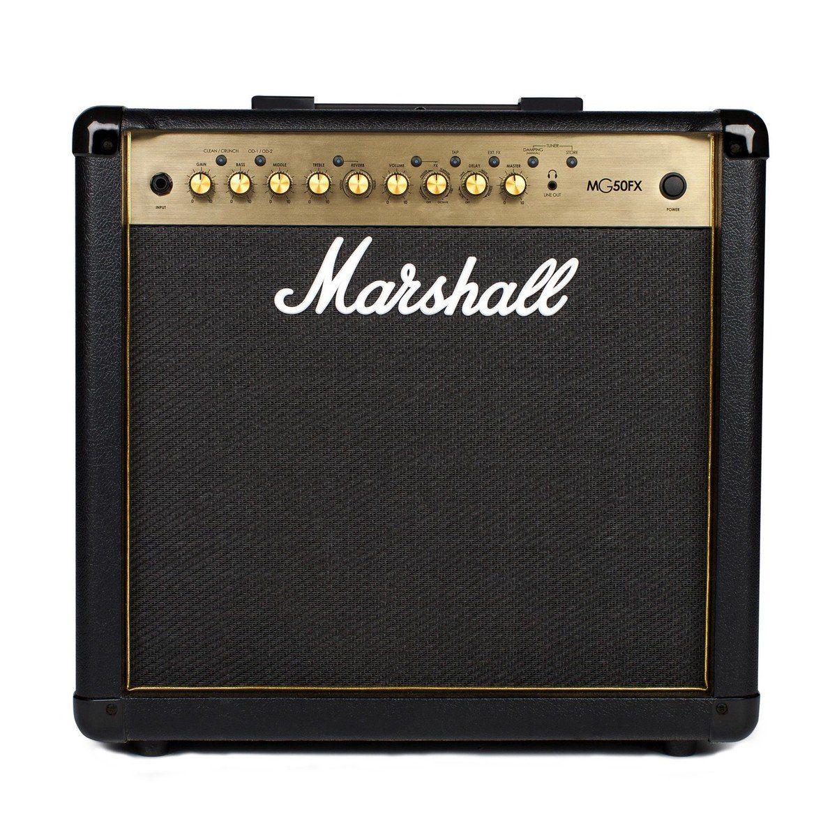 Combo para guitarra 50W - MG50GFX GOLD - MARSHALL