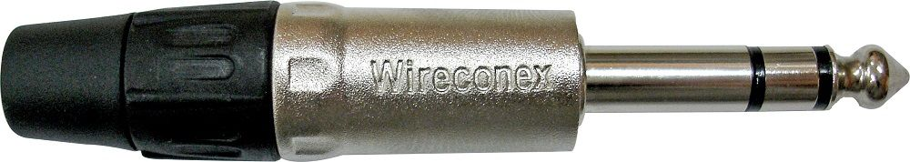 Conector Wireconex P10 Stereo Linha WC 1123