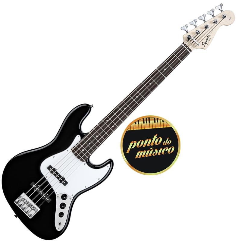 Circuito Para Baixo Jazz Bass : Contra baixo fender squier affinity jazz bass cordas