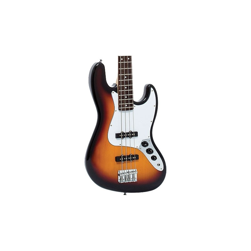 Contra Baixo Giannini Gb1 Jazz Bass 4 Cordas - Sunburst C/ Escudo Branco