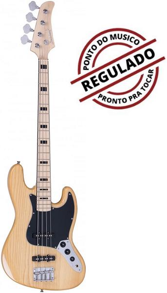 Contra Baixo Strinberg Jbs50 Natural 4 Cordas Jazz Bass