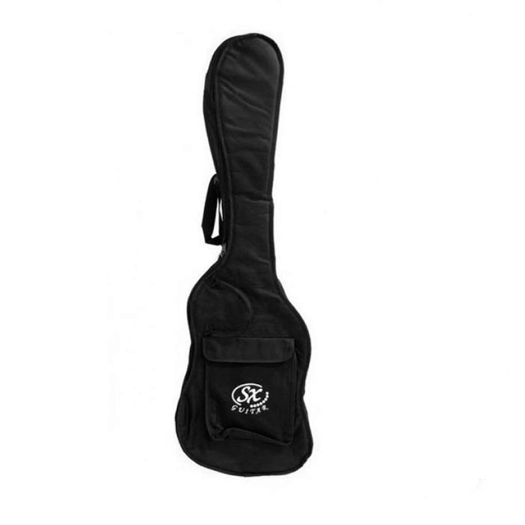 Contrabaixo Precision Bass Sx SPB57 Branco 4 Cordas C/ Bag