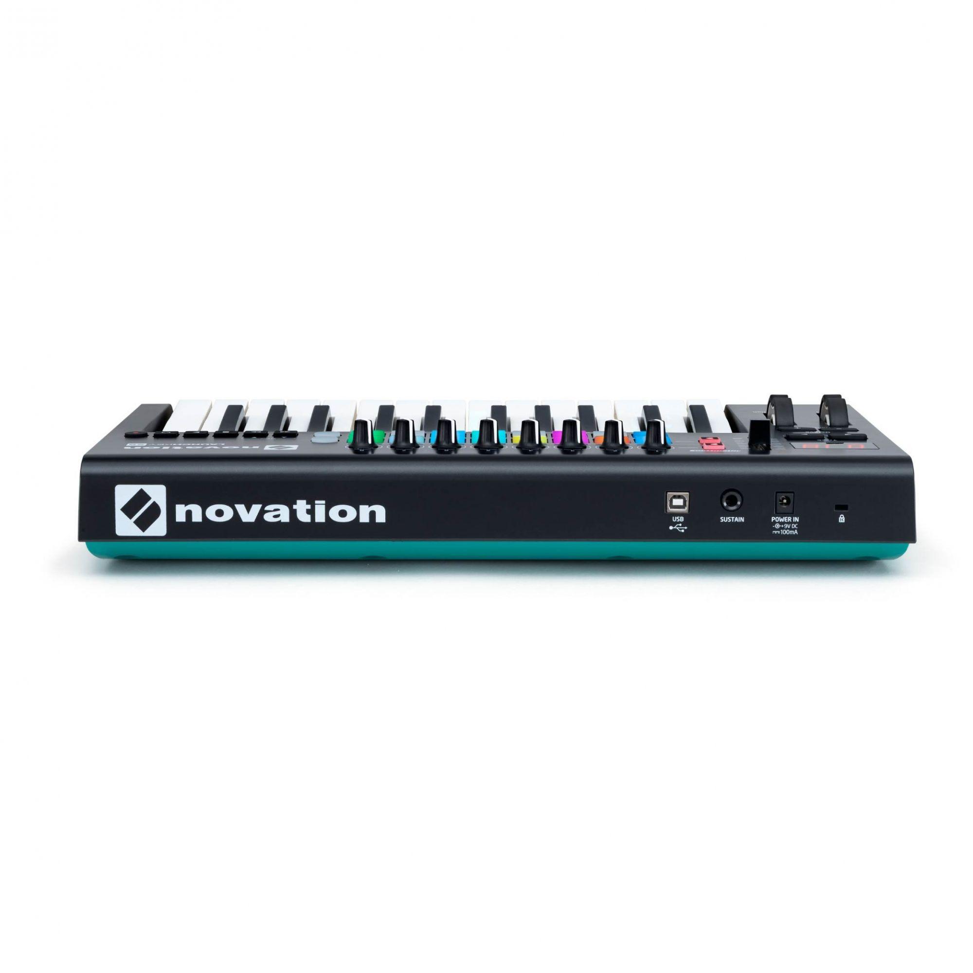 CONTROLADOR USB LAUNCHKEY 25 MK2 - NOVATION