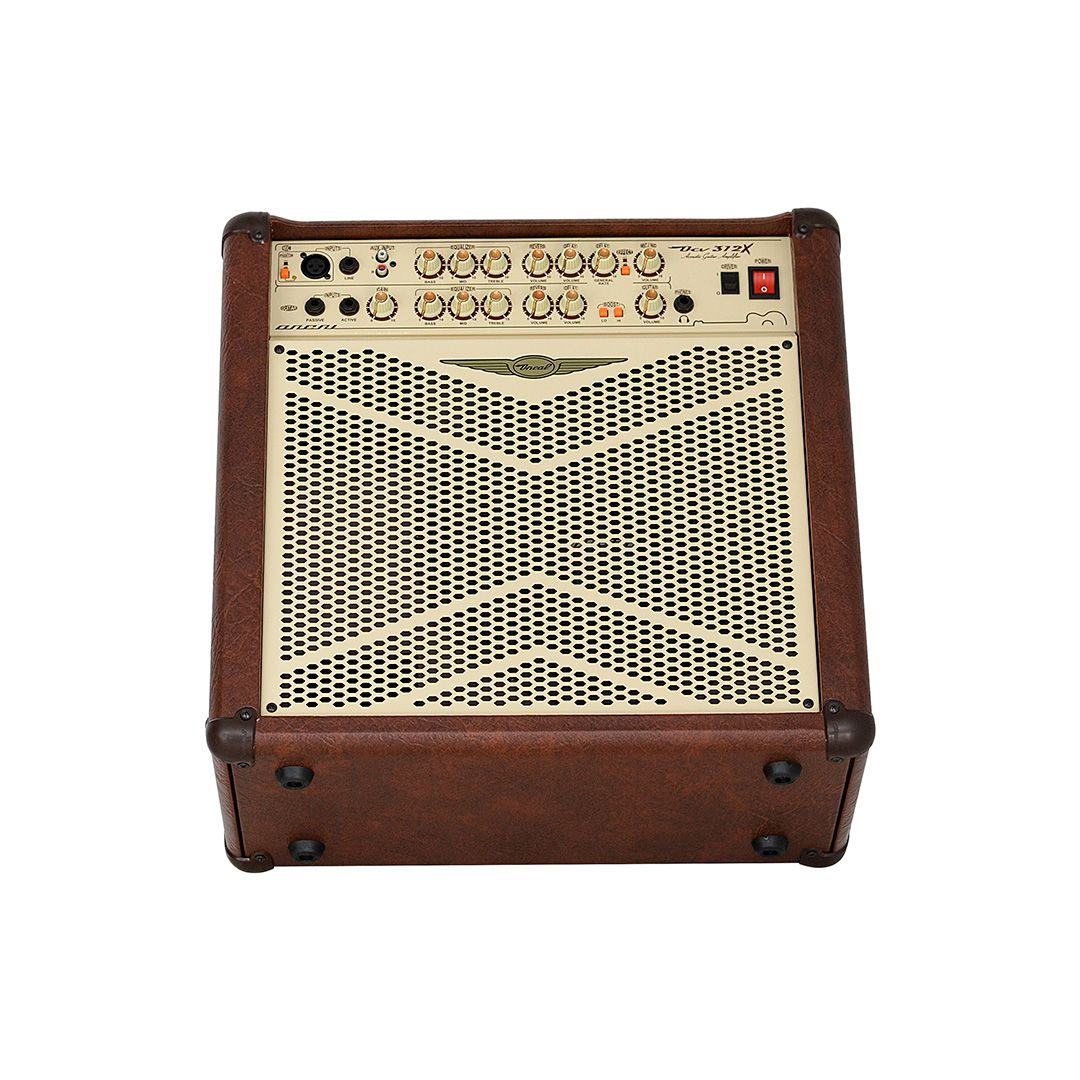 Cubo 12 Pol Oneal Ocv-312x Marrom violão / teclado / Baixo / Mic