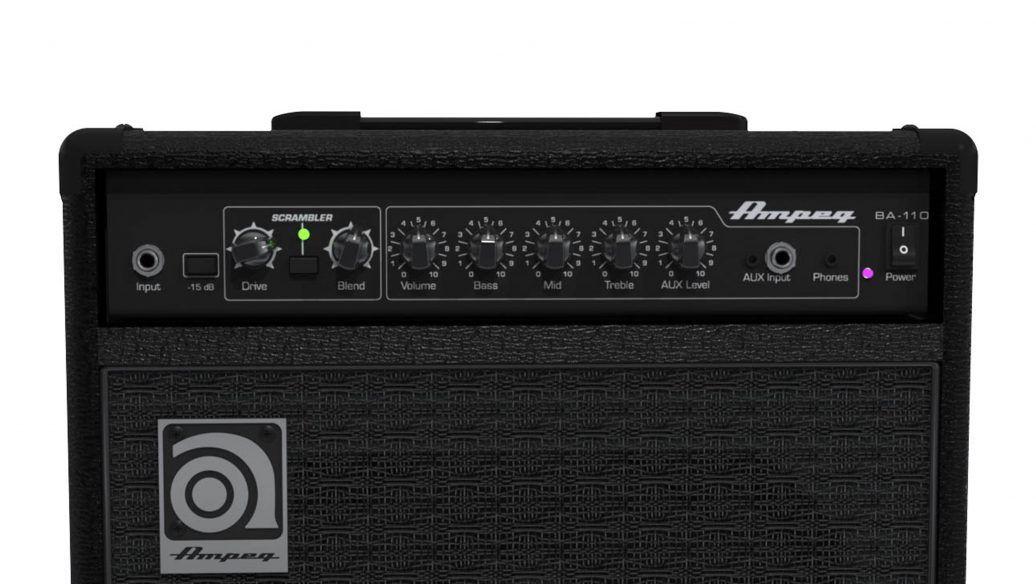 Cubo Amplificador Baixo Ampeg BA110 V2 30W Rms P/ Contra Baixo