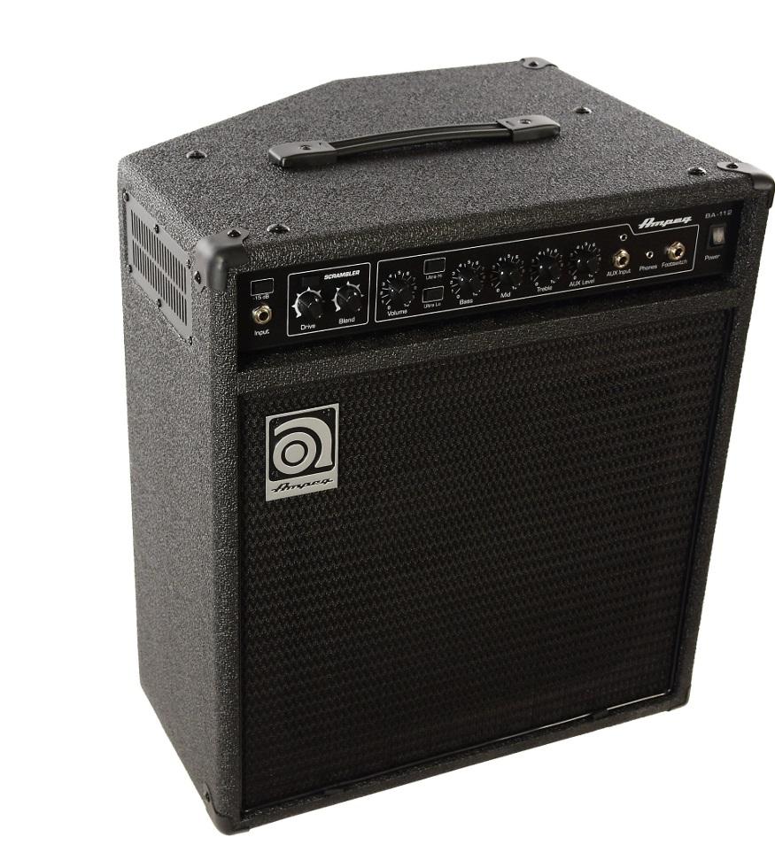 """Cubo Amplificador Baixo AMPEG BA112 V2 12"""" 75W Rms P/ Contra Baixo"""