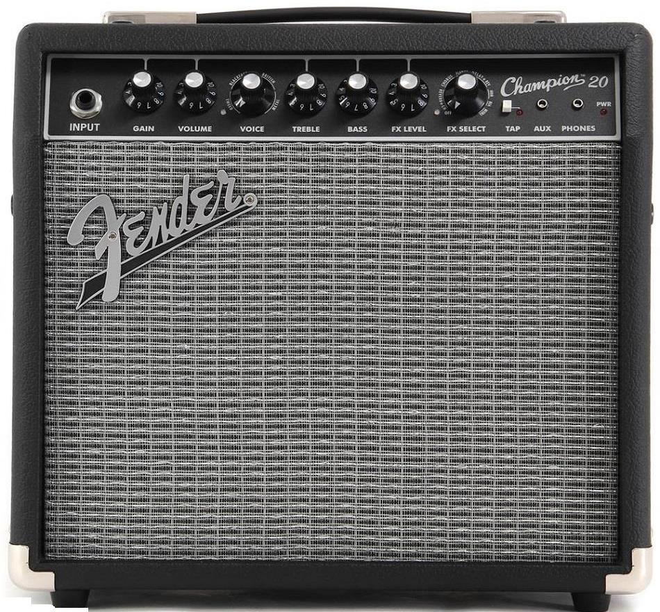 Cubo Amplificador Fender Champion 20 P/ Guitarra