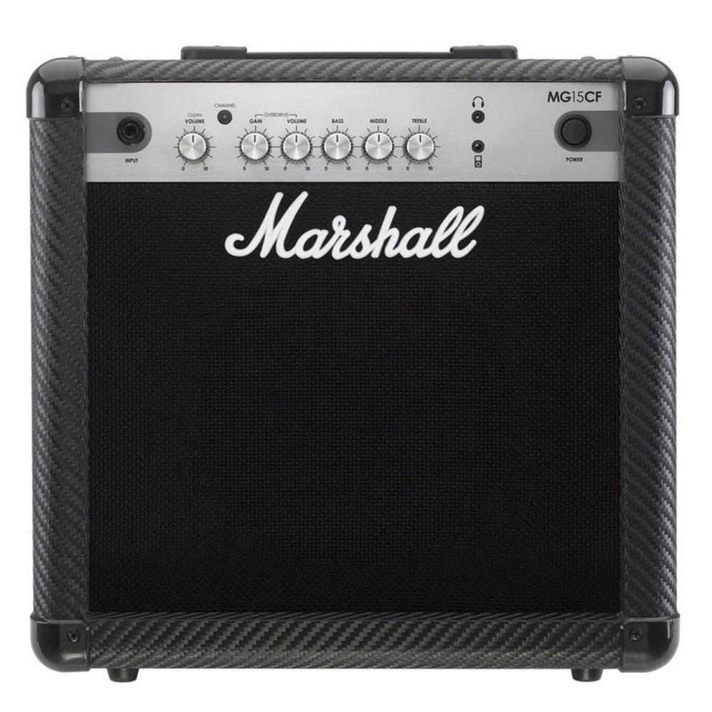 Cubo Amplificador Guitarra Marshall Mg15cf 15W Rms