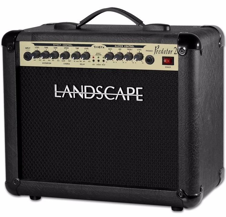 Cubo Amplificador Landscape Predator 20 Triefx Pdt20tfx