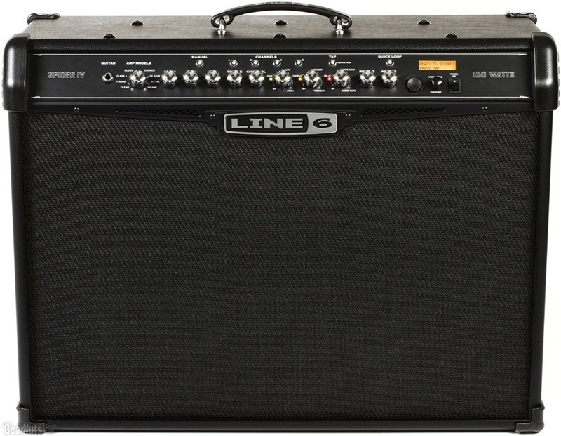 Cubo Amplificador GUITARRA Line 6 Spider Iv 150w 2 x 12 Celestion®