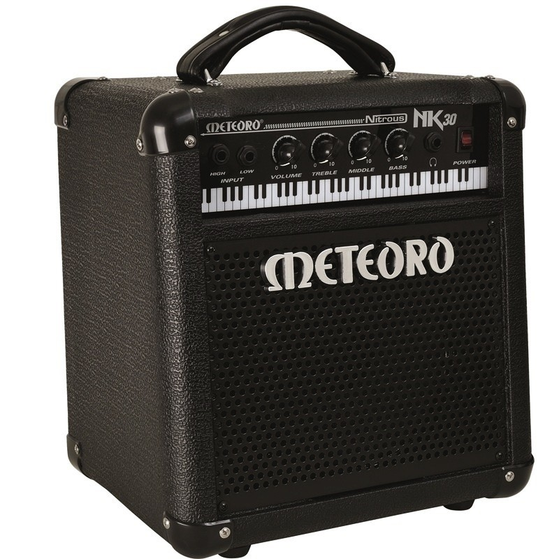 Cubo Amplificador Meteoro Nitrous Nk30 30w Rms P/ Teclado