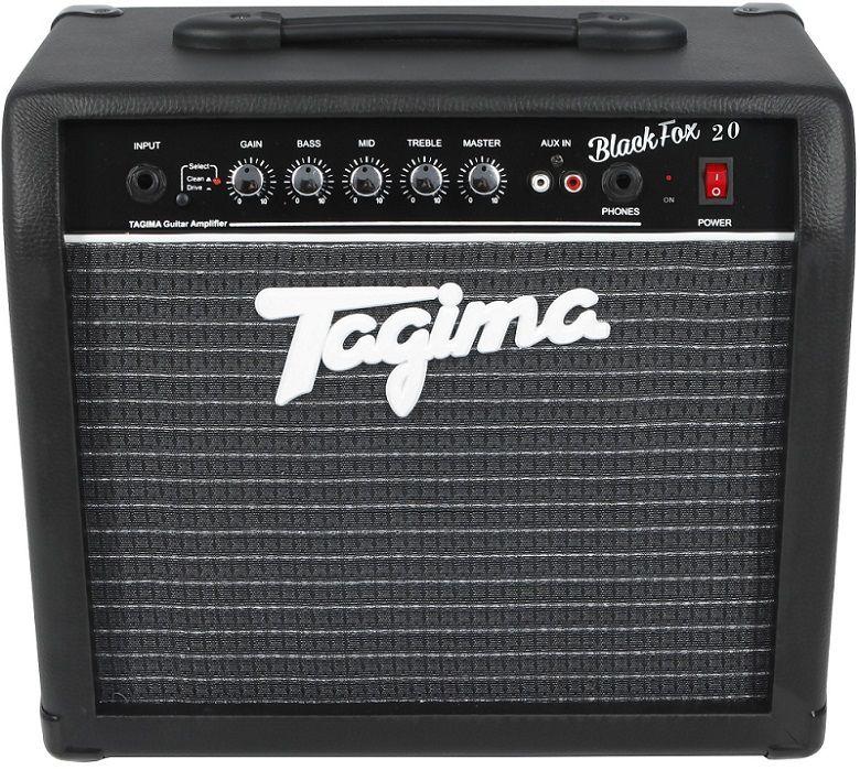 Cubo Amplificador Tagima Black Fox 20w Rms P/ Guitarra