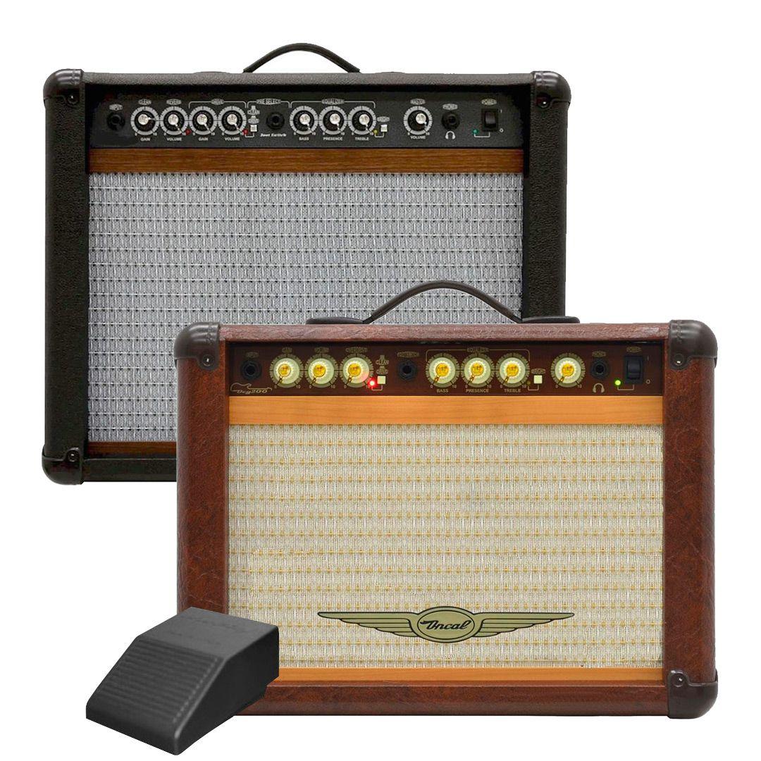 "Cubo Amplificador Guitarra Oneal OCG200 10"" 60W"