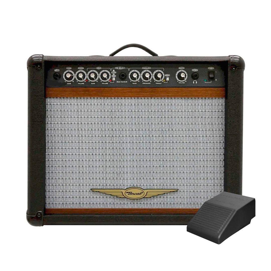 Cubo Para Guitarra Oneal OCG200 60w Preto