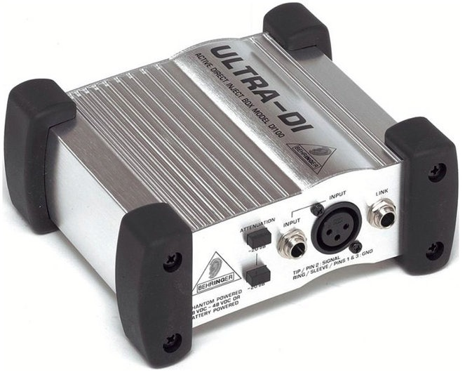 Direct Box Ativo Behringer Ultra DI100