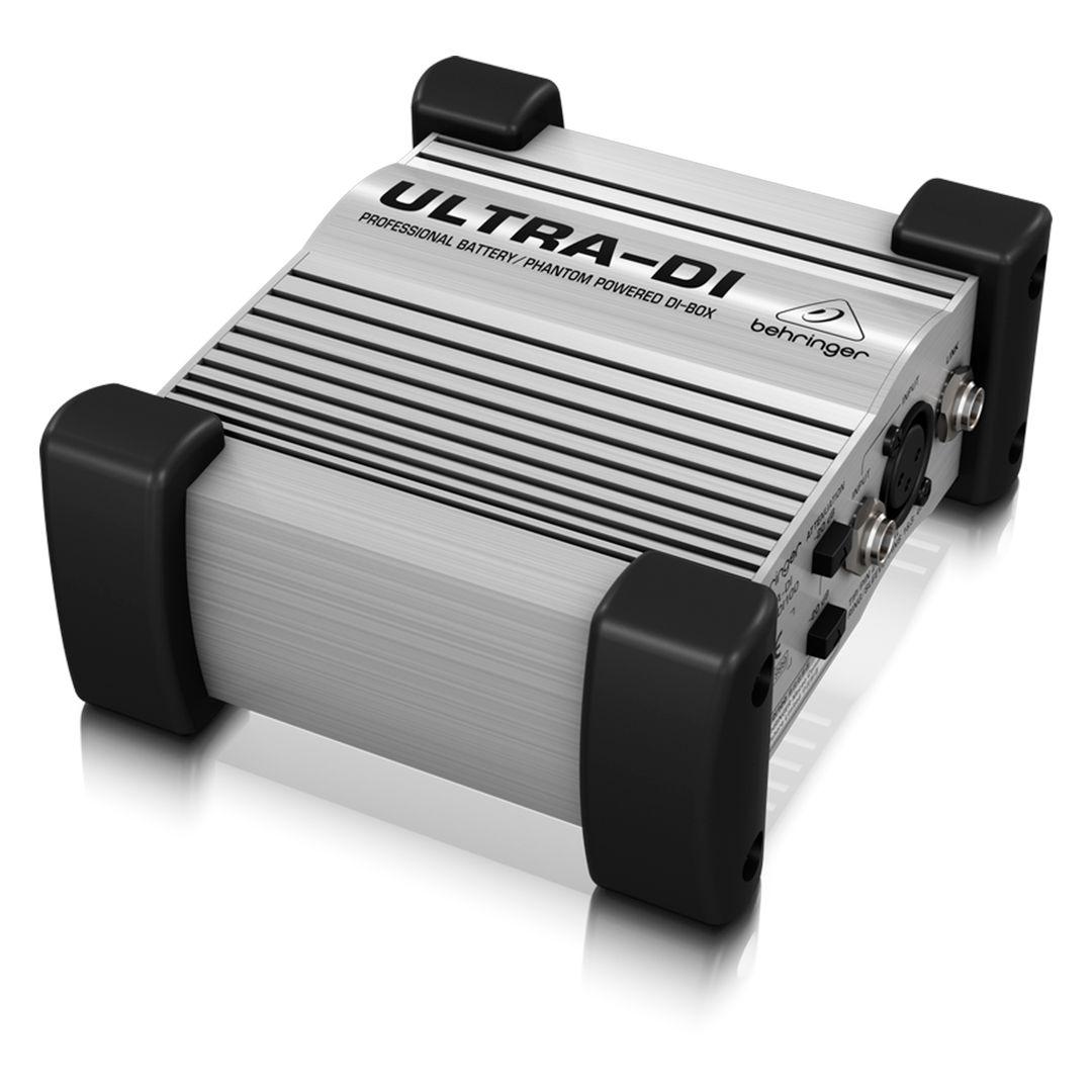 Direct Box Ativo Behringer Ultra DI100 2 Anos Garantia