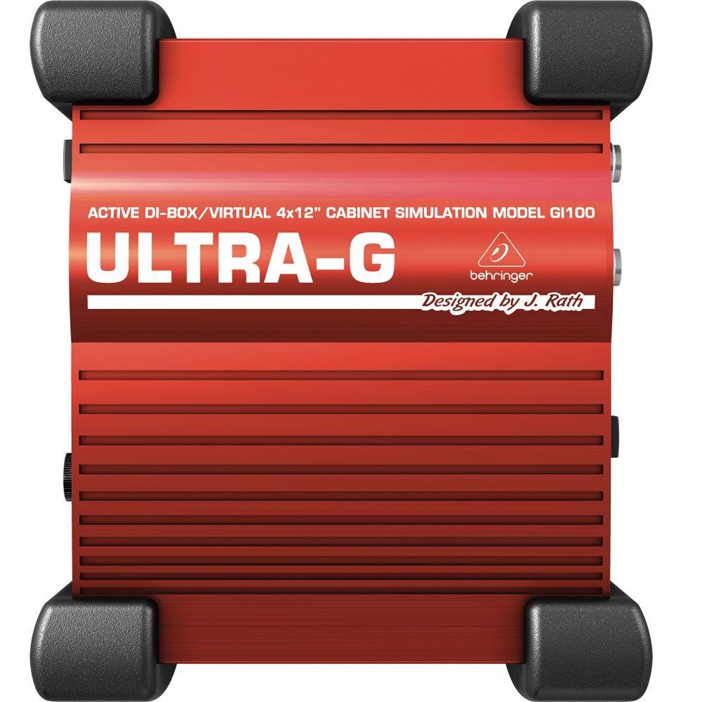 Direct Box Guitarra Behringer Ativo Ultra-G GI100