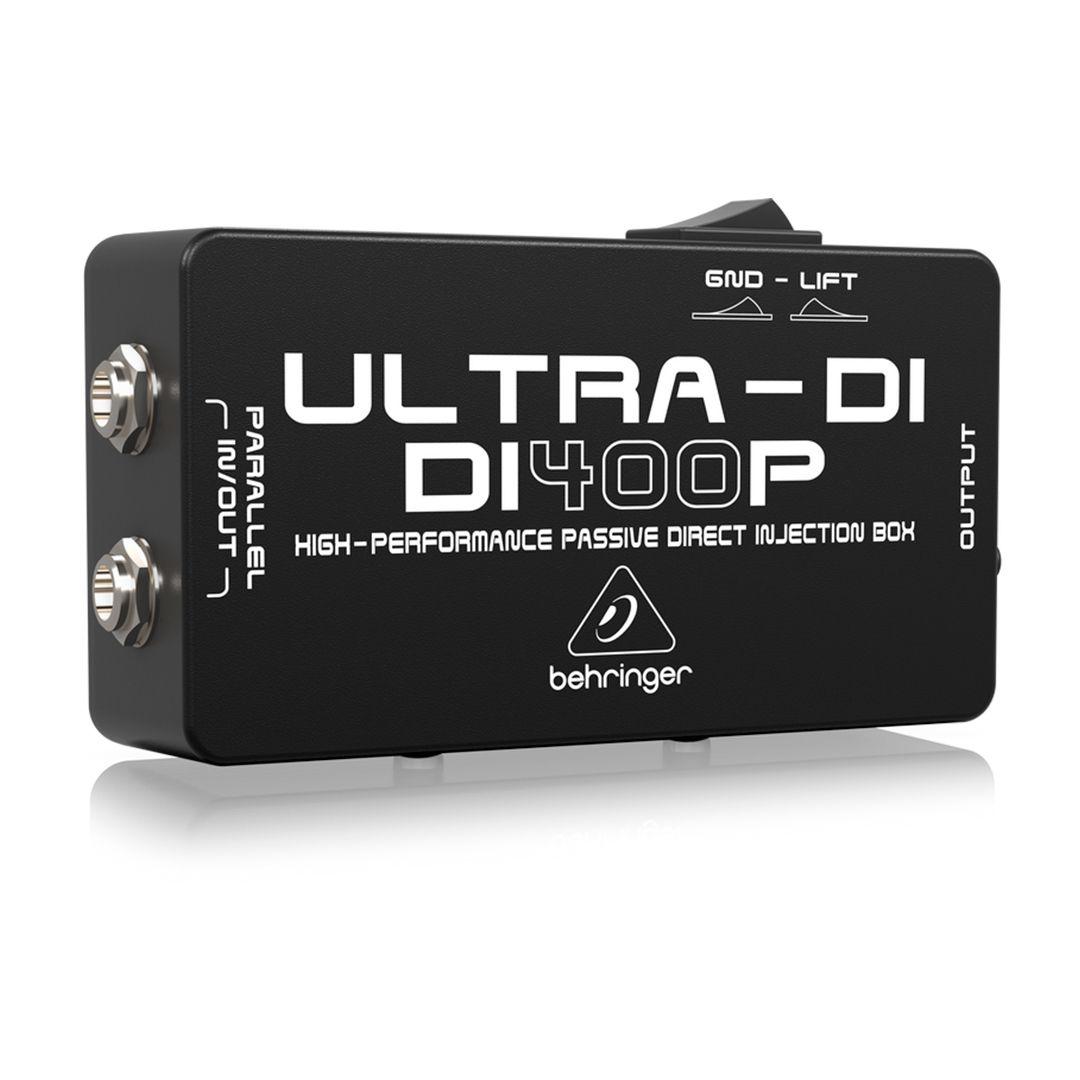 Direct Box Passivo Behringer Di400p Ultra-Di Passivo 2 Anos Garantia