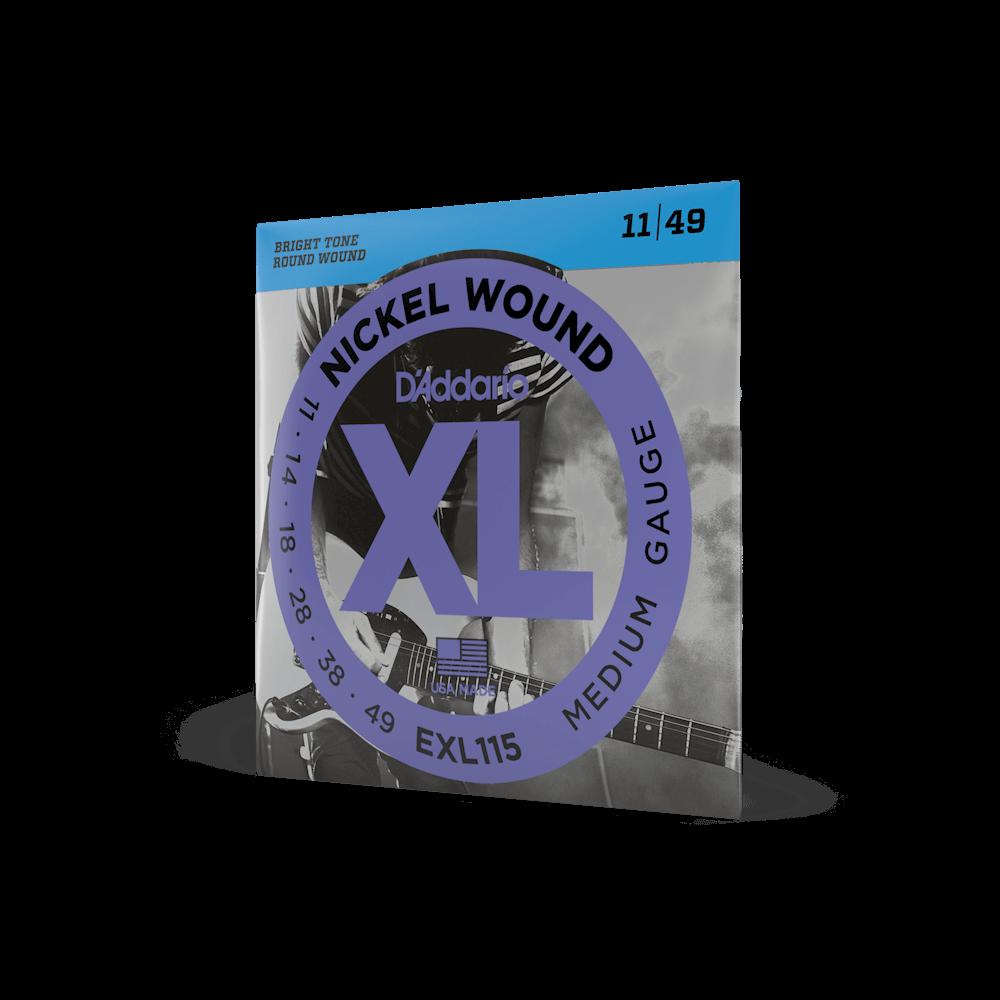 Encordoamento Daddario EXL115-B 011 P/ Guitarra + 1 Extra