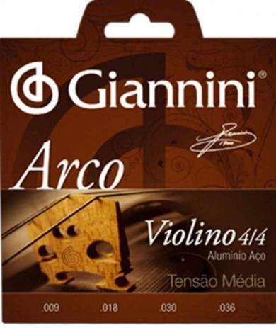 Encordoamento Giannini Violino GEAVVA