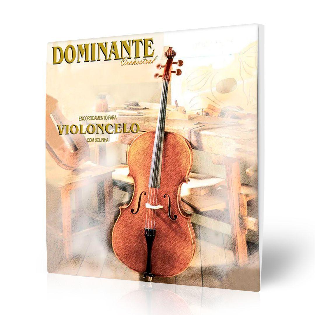 Encordoamento Dominante Orchestral P/ Violoncelo (7669)
