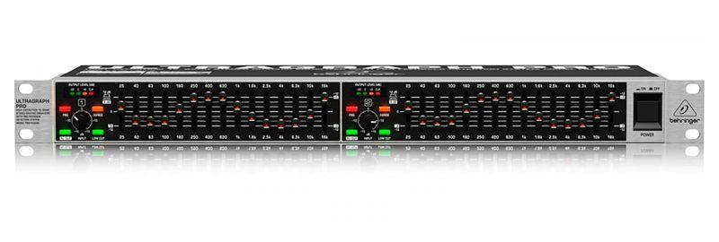 Equalizador Behringer Ultragraph Pro Fbq 1502 15 Bandas 2 Anos de Garantia