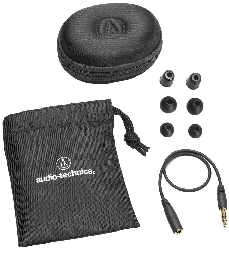 Fone De Ouvido Audio Technica Ep3 Pro Dynamic In Ear Retorno De Palco
